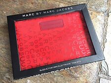 Marc Jacobs Red Mini Electronic Tablet Cover – New