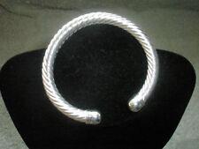Silver Plated Bangle Unbranded Stone Fashion Bracelets