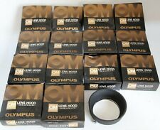RARE GENUINE OLYMPUS OM RUBBER HOOD FOR 35/2.8 50/1.8 50/1.4 35MM 50MM LENSES