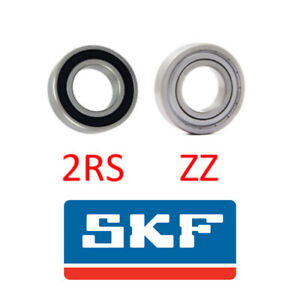 SKF BALL BEARING 6000-6012 RUBBER OR METAL SEALS (2RS/2ZZ) SELECT YOUR SIZE