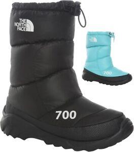 THE NORTH FACE Nuptse 700 Isolierte Warme Schuhe Freizeitstiefel Boots Damen Neu