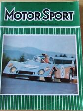 MOTOR SPORT MAGAZINE JUL 1972 DENNY HULME'S CAN-AM MCLAREN BELGIAN GP NEW FORD G
