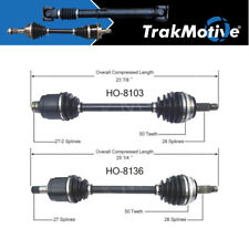 Surtrack 2PCS FRONT LEFT/RIGHT Cv Axle Shaft For 1998-2001 Honda CR-V Manual