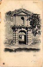 CPA LA VERNE Porte d'entrée (411408)