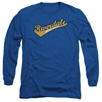 Archie Comics RIVERDALE HIGH SCHOOL Logo Adult Long Sleeve T-Shirt S-3XL