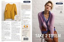 Multi-Coloured Cardigan Crocheting & Knitting Patterns