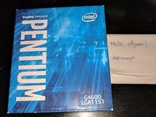 Intel Pentium G4600 Kaby Lake Dual-Core 3.6 GHz LGA1151 (BX80677G4600) Desktop C
