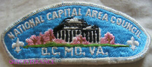 BG10970 - PATCH NATIONAL CAPITAL AERA COUNCIL D.C.MO.VA. - BOYS SCOUTS