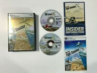 FLIGHT SIMULATOR X DELUXE EDITION | CIB WITH MANUALS; TESTED & WORKING