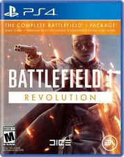Battlefield 1 Revolution Edition + Premium Pass + 4 DLC PS4 New Ships Fast !!!