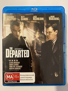 The Departed  (Blu-ray Movies 🎥 ) Good Condition