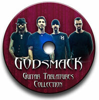 GODSMACK ROCK GUITAR TAB TABLATURE SONG BOOK TUITION SOFTWARE CD