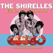 THE SHIRELLES - WILL YOU LOVE ME TOMORROW 2 CD NEUF