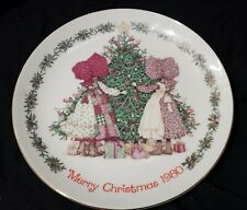 New ListingHolly Hobbie Merry Christmas Collectors Plate 1980 Porcelain