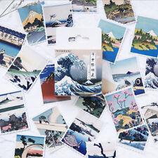 Mini Japanese Ukiyoe Landscape illustration Decorative Scrapbooking Stickers