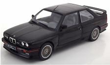 1/18 BMW E30 M3 1990 Black Diecast Model Car By Solido