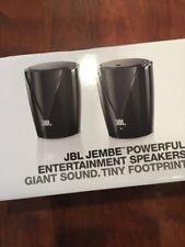 JBL JEMBE Entertainment Speakers by Harman