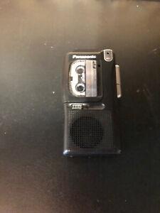Panasonic Microcassette Recorder Model RN-402 Black Tested