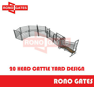 20 Head Cattle Yard Design Cattle Yard Panel & Gate