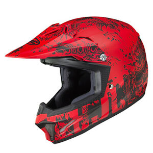 HJC CL-XY II Youth Creeper Helmet Red All Sizes