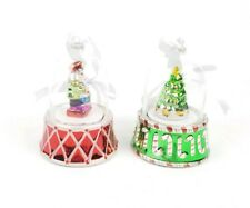 2 Mr Christmas Wind Up Ornaments Tree And Nutcracker