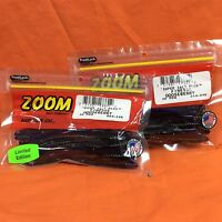 ZOOM Finesse Worm (20cnt) #004-340 Gooseberry (2 PACKS)