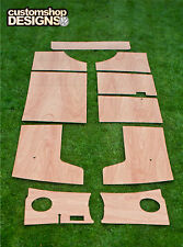 VW Splitscreen Camper Van porta carte / INTERNO 3,6 mm Ply pannelli Trim KIT