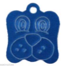 Articles bleu en métal pour chien