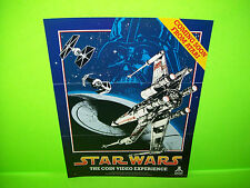 Atari STAR WARS 1-Page Teaser Original 1983 Video Arcade Game Promo Sales Flyer