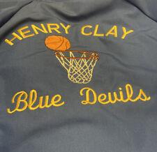 VINTAGE LEXINGTON KY BASKETBALL HENRY CLAY HIGH SCHOOL XL HARTWELL COACH JACKET