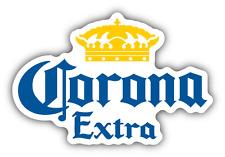"Corona Extra Mexican Beer Car Bumper Sticker Decal 5"" x 3"""