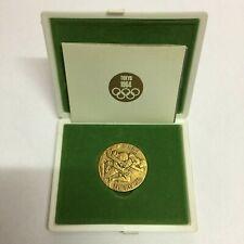 1964 Tokyo Olympic Copper Medal Original Case & Paperwork Vintage & Rare Japan