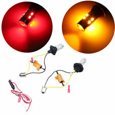 2x 20W Dual Color LED Turn Signal Light DRL BAY15S 1156 20 SMD Red Turn Yellow