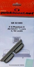 Quickboost 1/32 F-4 Phantom II Air Intake Covers for Tamiya kit # 32089