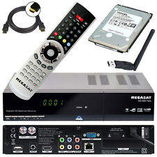 HD TWIN Sat Receiver Megasat 935, 1TB Festplatte, W-LAN Stick PVR Live TV Stream