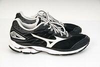 MIZUNO Wave Rider 20 - Womens Size US 10 (UK 7.5) - Running Shoes-Black White