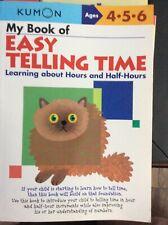 Kumon Easy Telling Time Workbook