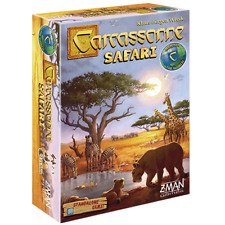 Carcassonne Safari Stand Alone Tile Game Z-Man Games Around The World ZMG ZM7868