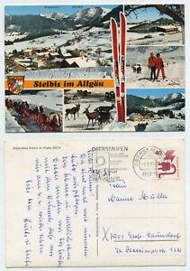 67473 - Steibis im Allgäu - Winter - Ansichtskarte,gelaufen 1.3.1976