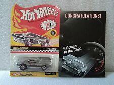 2001 Hot Wheels RLC Members Club Exclusive w/Welcome Card 67 Camaro