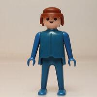 Playmobil Joven Figura  Vintage Azul mano fija Klicky  1974 .p224