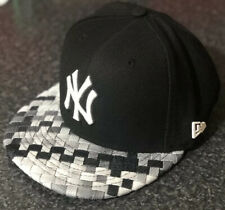SMALL- MEDIUM NEW ERA NEW YORK YANKEES BASEBALL CAP WOVEN BRIM SNAPBACK 9FIFTY