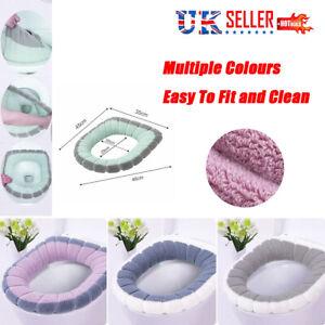 Bathroom Warmer Toilet Washable Soft Pad Seat Closestool Cover Lid Mat Cushion
