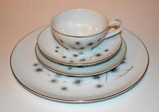 Creative Fine China Japan Platinum Starburst 1014 Pattern 4 piece place setting