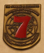 7th Special Forces Group Airborne 1st Spec Forces Commanders Army Challenge Coin