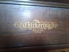 Antique Chickering and Sons Piano Serial # 166738