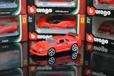 FERRARI F40 1:64 (7,5 cm) Model Toy Car Diecast Cars Miniature Red