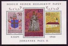 Mint Never Hinged/MNH Block Liechtenstein Stamps
