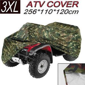 XXXL Waterproof ATV Camouflage Cover Bag For Can-Am Honda Polaris Suzuki Yamaha