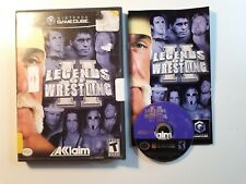 LEGENDS OF WRESTLING II Gamecube CIB COMPLETE FAST FREE SHIPPING!!